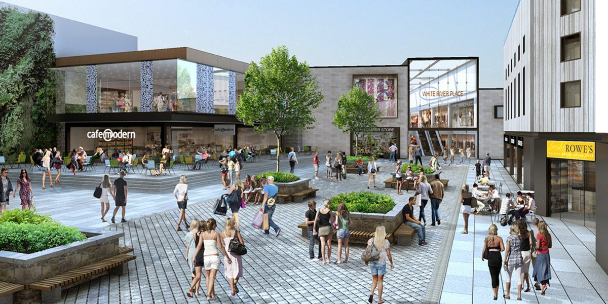 St Austell Town Centre Shopping Development Secured By