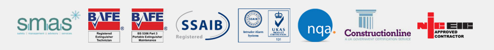 Waldon Security accreditation logos