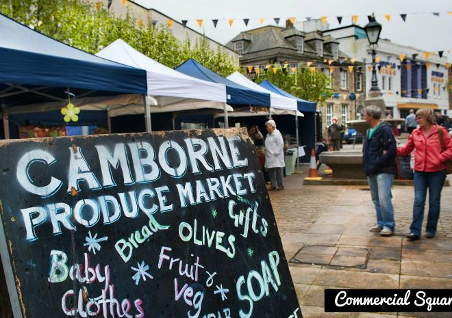 Waldon Security works in Camborne - Picture of Produce Market (photo credit Bernie Pattersen)