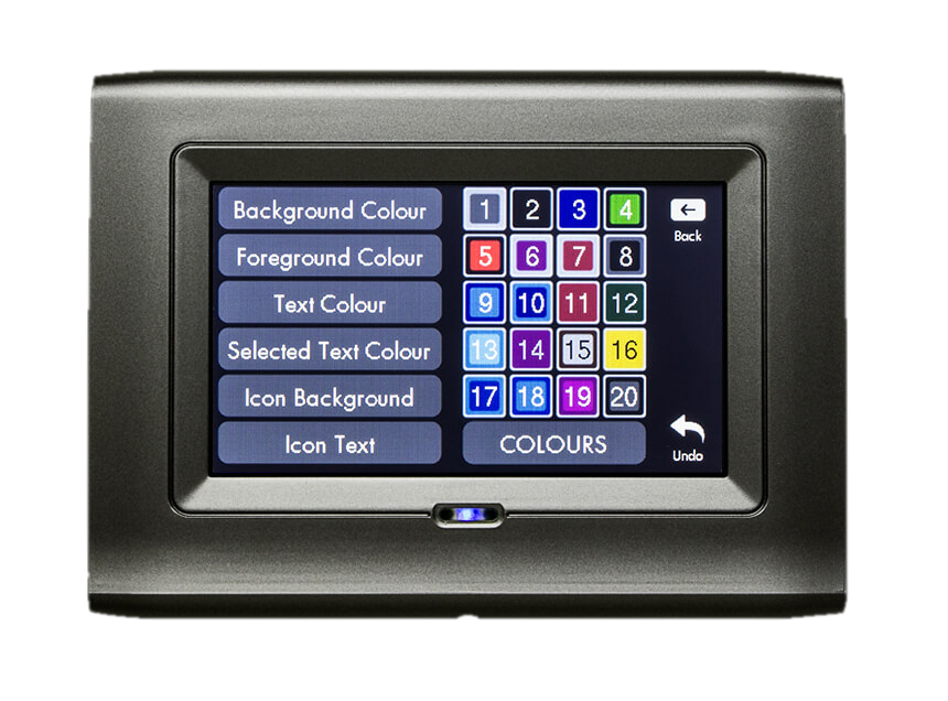 Colour-matched keypads - Stylish security - Waldon Security