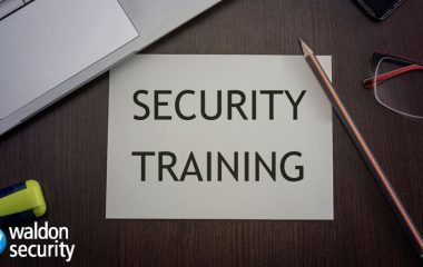 Online Waldon security training resources during lockdown