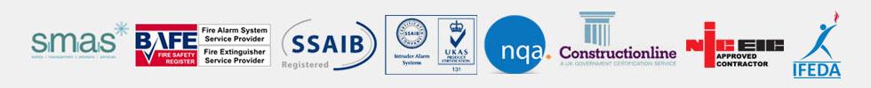Waldon Security accreditation logos 2021